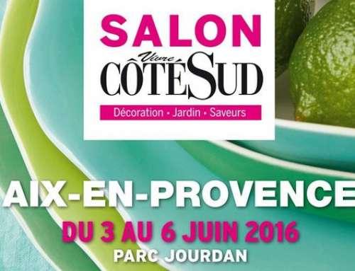 Salon « Côté Sud » à Aix-en-Provence 2016